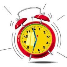 Alasrm clock wide