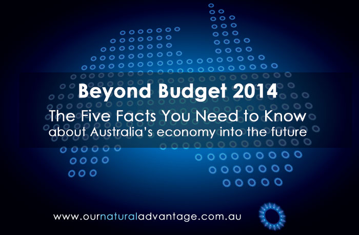Beyond Budget 2014 - The five facts you need to know about Australia's economy into the future